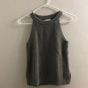 Madewell Sage Knit Sweater Vest